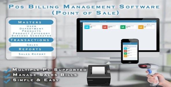 POS Billing Management Software