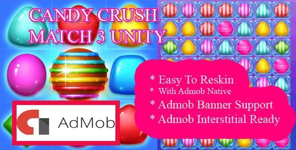 Candy blast Match 3 Unity