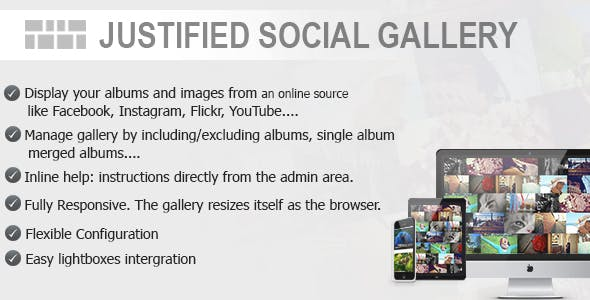 Justified Social Gallery