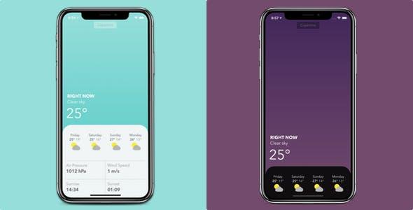 Weadeer - Weather application for iPhone