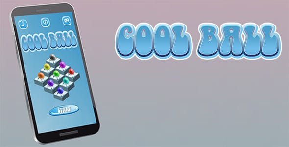 Cool Ball Android iOS Buildbox with Custom Ads