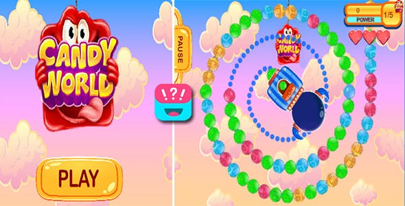 GAME CANDY WORLD -  TOWOGAMES
