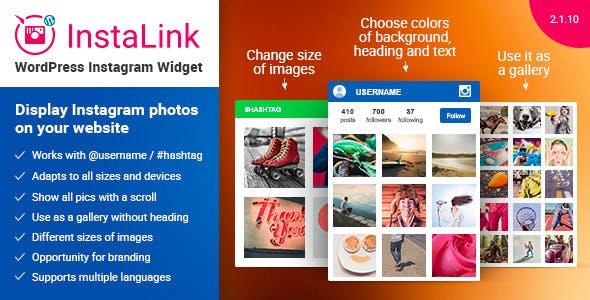 Instagram Widget – WordPress Instagram Widget        Nulled