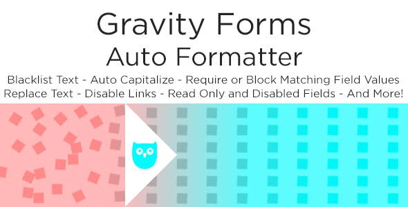 Gravity Forms Auto Formatter