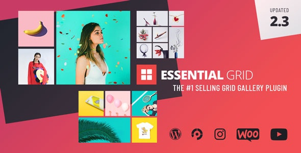 Wordpress Grid Gallery Plugin by Themepunch