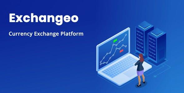 Exchangeo - Online Currency Exchange Platform