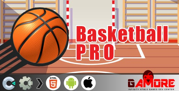 Basketball PRO - HTML5 Game - Construct 2 & 3 CAPX ( Construct2 & C3)