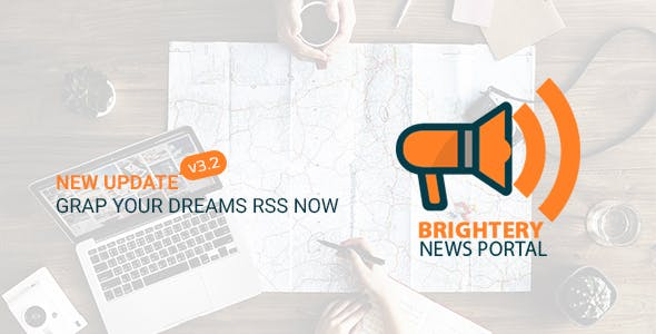 News headlines - rss news portal for news website by brightery