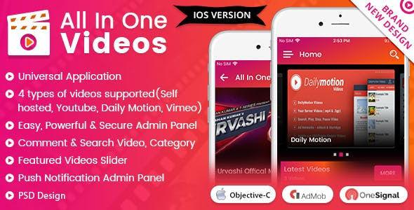 iOS All In One Video