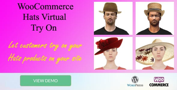 "Hats Virtual Try-on ""WooCommerce plugin"""