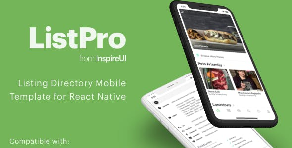 ListPro - Listing Directory React Native template