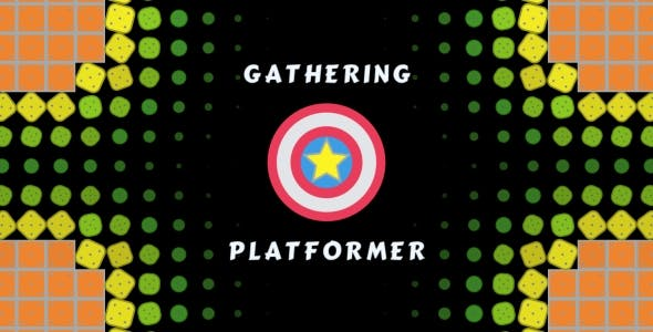 Gathering Platformer - HTML5 Game 10 Levels, PC and Mobile Version! (Construct 2-3)