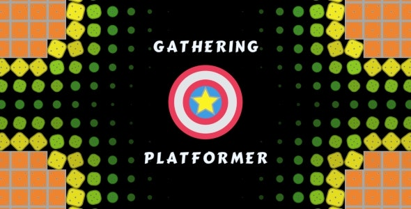 Gathering Platformer - HTML5 Game 10 Levels, PC and Mobile Version! (Construct 2-3) - CodeCanyon Item for Sale