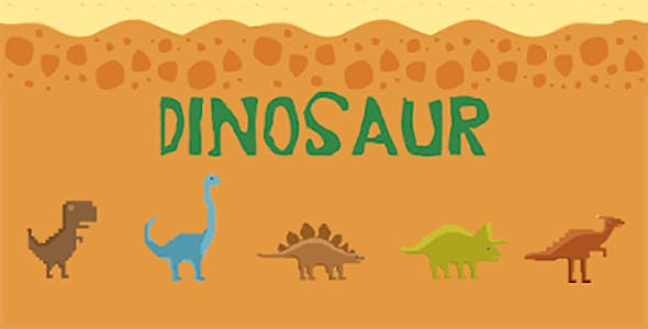 Dino Day/Night - Android & Ios Game (Buildbox Included)