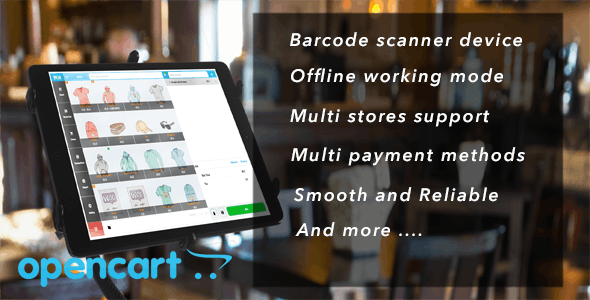 OpenCart Point of Sale (POS) - CodeCanyon Item for Sale