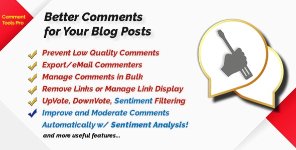 Comment Tools with Sentiment Analysis by quantumcloud | CodeCanyon