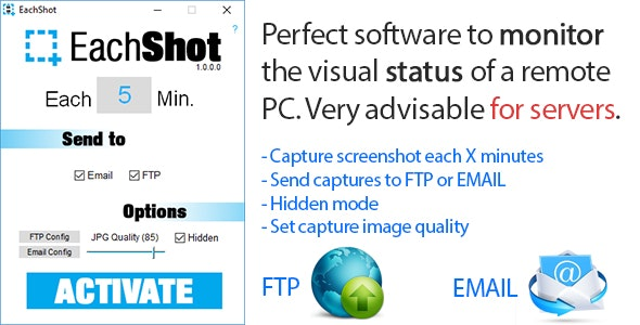 EachShot # Remote monitoring with screenshots - CodeCanyon Item for Sale