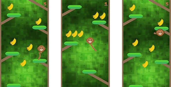 Banana Bunch - Android & Ios Game (Buildbox Included)