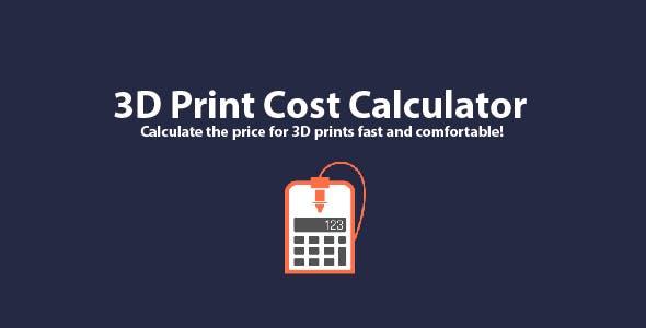 3D Print Cost Calculator for Windows