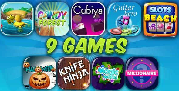 HTML5 GAMES BUNDLE №2 (CAPX)