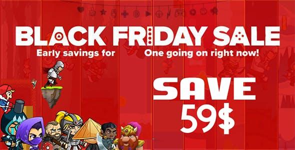 Black Friday Mega Bundle Sale - 10 Games