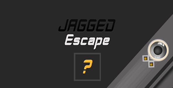 Jagged Escape - Admob - Android & Ios Game (Buildbox Included)
