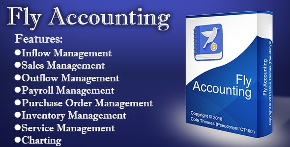 Fly Accounting - CodeCanyon Item for Sale