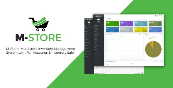 M-Store- Multi-Store Inventory Management System with Full Accounts and installment Sale