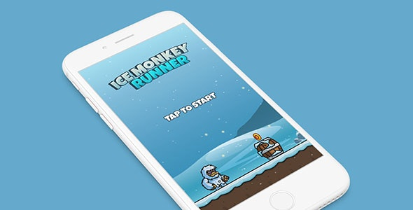 ICE MONKEY RUNNER WITH ADMOB - IOS XCODE FILE - CodeCanyon Item for Sale