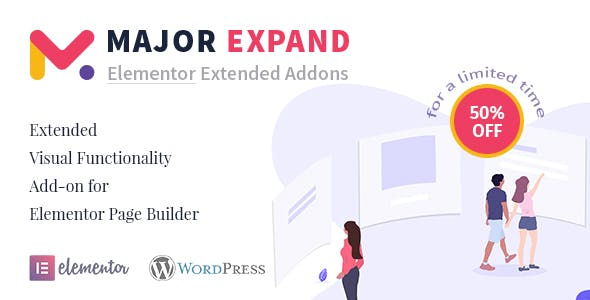 Major Expand: Extended Visual Functionality Add-on for Elementor Page Builder
