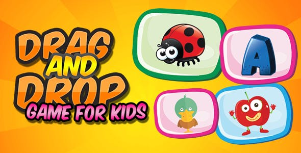 Drag and Drop Game for Kids