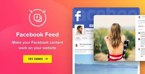 Facebook Feed – WordPress Facebook Plugin        Nulled