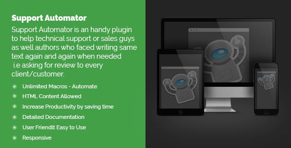 Support Automator - CodeCanyon Item for Sale