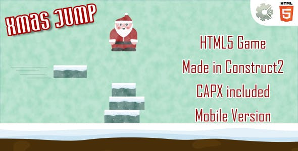 xmasJump - HTML5 Casual Game (+ mobile version)