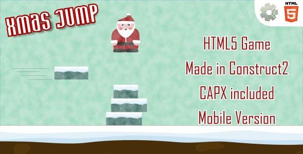 xmasJump - HTML5 Casual Game (+ mobile version)