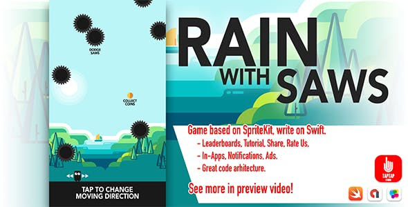 Rain With Saws