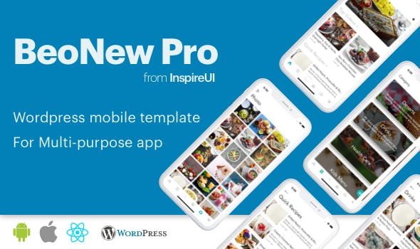 BeoNews Pro - React Native mobile app for Wordpress - CodeCanyon Item for Sale