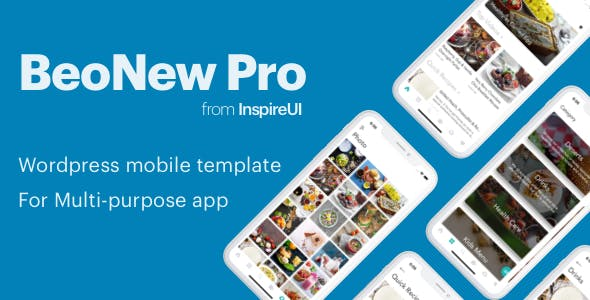 BeoNews Pro - React Native mobile app for Wordpress