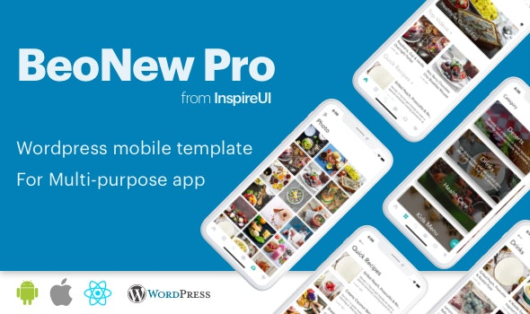 BeoNews Pro - React Native mobile app for Wordpress by InspireUI