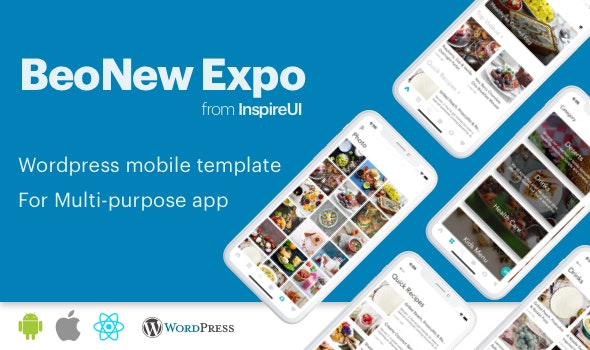 BeoNews Expo - React Native mobile app for Wordpress - CodeCanyon Item for Sale