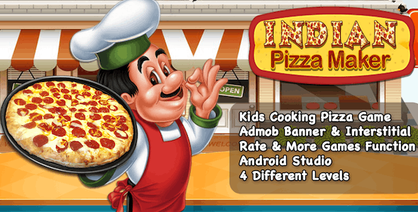 Cooking Game For Kids + Pizza Maker + Ready For Publish + Android