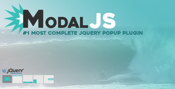 ModalJS - Most Complete jQuery Popup/Modal Plugin - CodeCanyon Item for Sale
