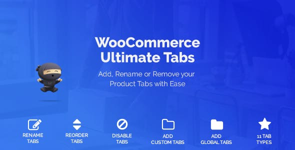 WooCommerce Tabs - Ultimate Custom Product Tabs