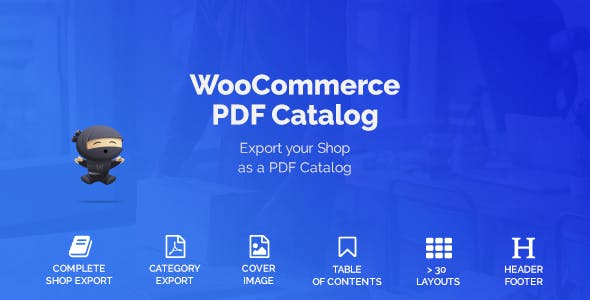 WooCommerce PDF Catalog        Nulled