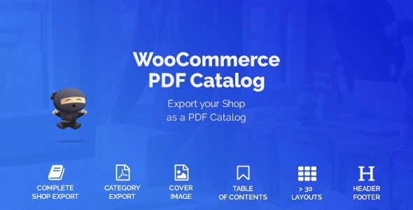 WooCommerce PDF Catalog - CodeCanyon Item for Sale