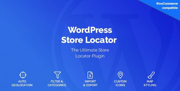 WordPress Store Locator        Nulled