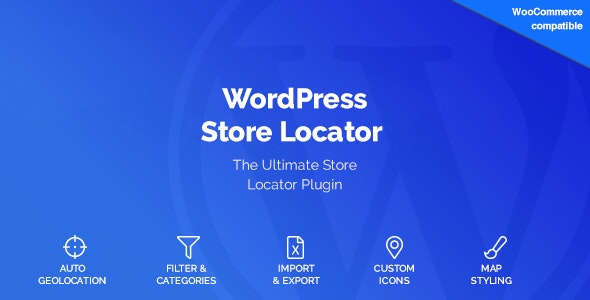 WordPress Store Locator - CodeCanyon Item for Sale