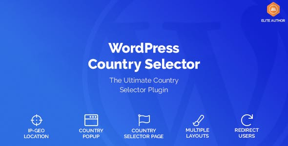 Wordpress Country Selector