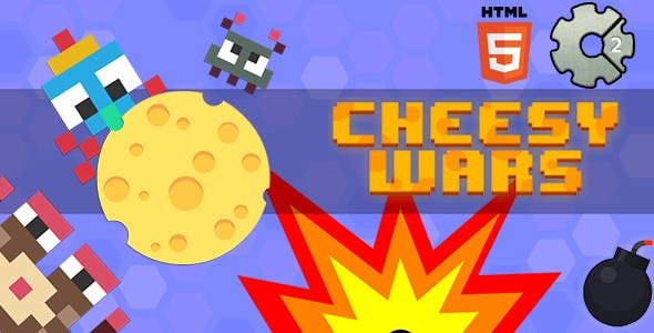 Cheesy Wars (Construct 2, capx)