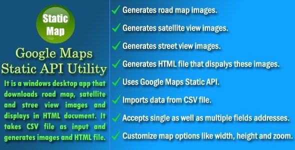 Google Maps Static API Utility by NajmulIqbal15 | CodeCanyon on cell phone app, media app, fireplace app, medical app, communication app, radio app, education app,